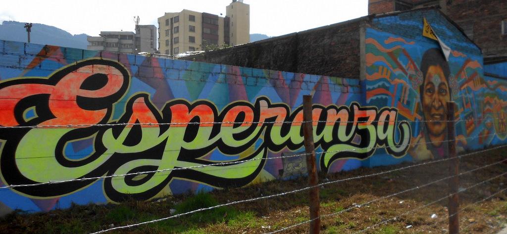 street art - hope