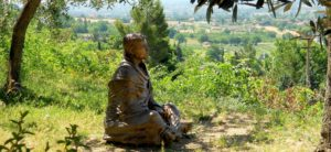 Statue of St. Francis in Assisi